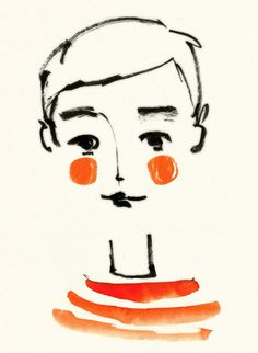 Digitaldruck - Petit Garçon - ein Designerstück von Ekaterina-Koroleva bei DaWanda