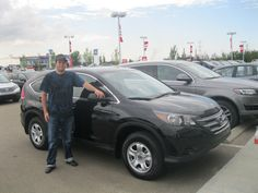 Congrats to Chris on the purchase of your new 2013 Honda CR-V!