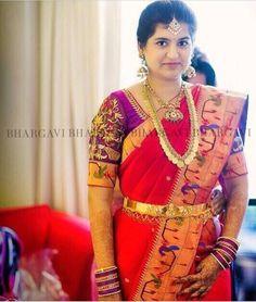 Sari Blouse Designs, Fancy Blouse Designs, Saree Blouse Patterns, Bridal Blouse Designs, Saree Trends, Trendy Sarees, Indian Bridal Fashion, Indian Beauty Saree, Indian Sarees