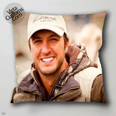 50 Luke Bryan pillow case, cover ( 1 or 2 Side Print With Size 16, 18, 20, 26, 30, 36 inch )