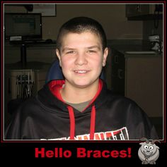 Will is looking good in his new braces!