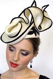 Melbourne fashion hats and fascinators - Louise Macdonald Milliner - Clio