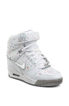 Nike 'Air Revolution Sky Hi' Hidden Wedge Sneaker (Women) available at #Nordstrom