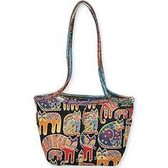 ColorfulCritters - Laurel Burch Fantastic Felines Tapestry Med Shoulder Tote LB704, $28.49 (http://www.colorfulcritters.com/laurel-burch-fantastic-felines-tapestry-med-shoulder-tote-lb704/)