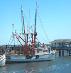 Shrimp Trawler on Shem Creek