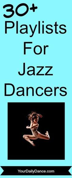 Jazz Dance Playlists
