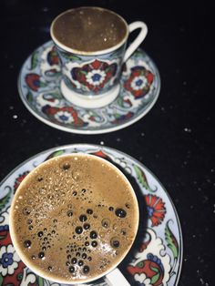 Food Snapchat, Turkish Coffee, But First Coffee, Espresso Cups, Chocolate Coffee, Coffee Cafe, Coffee Recipes, Tea Pots, Food And Drink