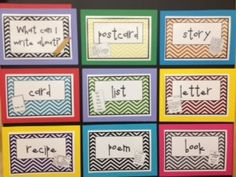 What Can I Write FREE PRINTABLE... With good procedural text options!