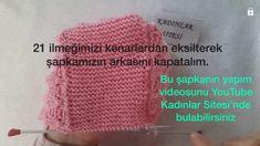 Kolay Ve Şık Çocuk Şapkası Tarifi. 1 yaş – Örgü resimli anlatımlı örgü sitesi Baby Knitting Patterns, Crochet Hats, Layette, Tricot, Knitting Hats