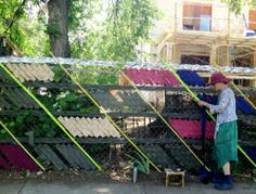 recycled chain link fencing - Google Search