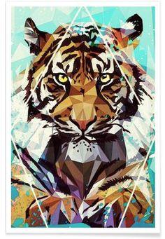 It Tiger - Mayka Can2ienova - Premium Poster