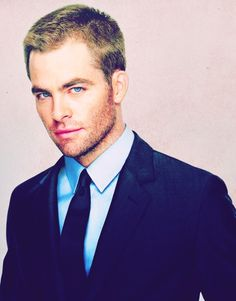 Chris Pine. I would awake at ungodly hours if he were what I awoke to.