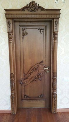 Interior Wood Doors – What You Must Look for While Buying Interior Wood Doors Black Interior Doors, Door Design Interior, Wooden Front Door Design, Wooden Doors, Pooja Room Door Design, Front Door Makeover, Architecture, Decoration, Entry Doors