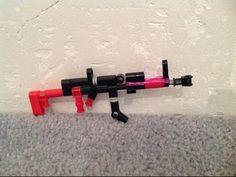 MINI LEGO AK47 + TUTORIAL - YouTube