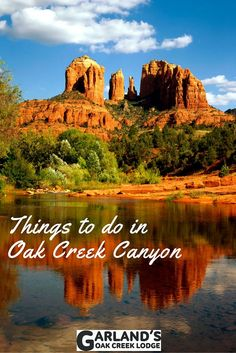 Oak Creek Canyon in Sedona is a beautiful area full of fun things to do! Here are a few of our favorites. Oak Creek Canyon Arizona, Sedona Arizona, Arizona Usa, Arizona Road Trip, Arizona Travel, Sedona Red Rock, Road Trip Destinations, Film Awards, Travel Images