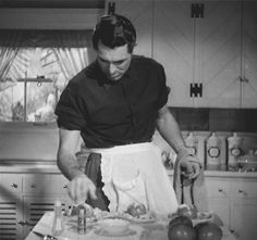 Cary Grant is making you breakfast.