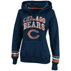 HOT ITEM: Chicago Bears Navy Women's Pre-Season Favorite II Hooded Sweatshirt  http://www.fansedge.com/Chicago-Bears-Navy-Womens-Pre-Season-Favorite-II-Hooded-Sweatshirt-_442685588_PD.html?social=pinterest_pfid22-27484