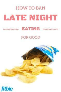 You CAN do this, with the right tips. http://www.rodalewellness.com/eat-right/new-tricks-banish-your-late-night-cravings-good?ocid=Soc_Pinterest_EatRight&utm_content=bufferb75e0&utm_medium=social&utm_source=pinterest.com&utm_campaign=buffer