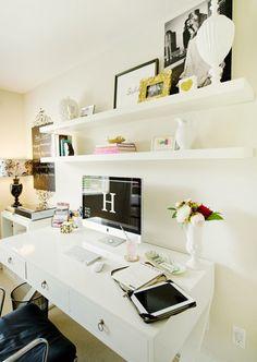the perfect desk details.