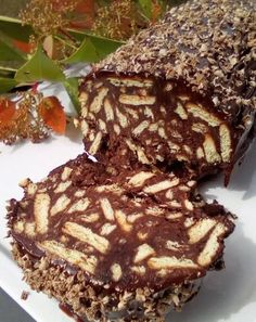 Greek Desserts, Greek Recipes, Cookbook Recipes, Dessert Recipes, Cooking Recipes, How To Make Cake, Food To Make, Greek Cooking, Chocolate Sweets