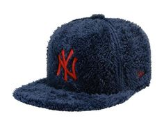 New York Yankees Boafleece Navy Red 59Fifty Fitted Baseball Cap by NEW ERA x MLB