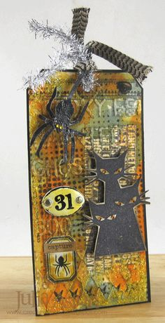 Create With Me: Tim Holtz 12 Tags of 2014 - August