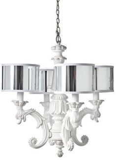 Barbara Cosgrove Chandelier $1015. South Shore Decorating: BCG-CHANDELIER-IN-WHITE