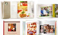 Cookbooks using SHutterfly