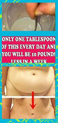SINGLE TABLESPOON OF THIS MIXTURE EVERY DAY WILL CUT 10 POUNDS IN A WEEK