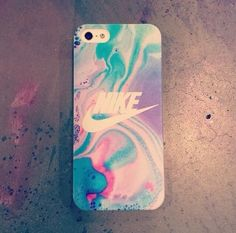 Nike colorful iPhone case for girls