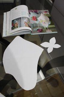 Итак, берем выкройки шапочки и бабочки