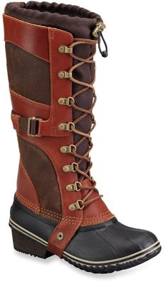 These Sorel Conquest Carly Boots are stylish and perfect for fall weather!