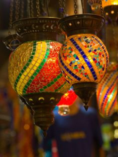 size: Photographic Print: Stained Glass Lamp Vendor in Spice Market, Istanbul, Turkey by Darrell Gulin : Travel Arabian Nights Theme, Turkish Lamps, Mosaic Art, Mosaics, Glass Garden Art, Stained Glass Lamps, Frames For Canvas Paintings, Affordable Wall Art, Cool Posters