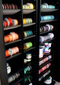 BowSweet: Ribbon Storage/Organization