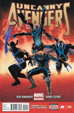 Written By Rick Remender , Art And Cover Art Daniel Acuña & John Cassaday __Ragnarak Now continues! THE FOUR HORSEMEN OF DEATH are unleashed!