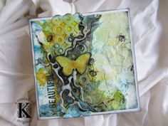 Mixed Media Tutorial for Sizzix by Vivian Keh aka contadinak