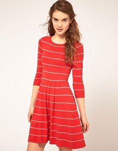 ASOS Striped Knit Dress $30
