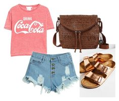 lets go back in time by noahjpurkey on Polyvore featuring polyvore fashion style MANGO WithChic Birkenstock The Sak women's clothing women's fashion women female woman misses juniors