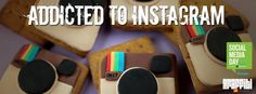 Instagram Cookies. They make your cookies taste better like your photos.