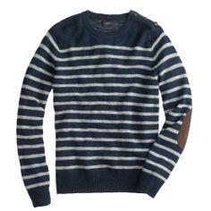 J.Crew Striped Sweater.