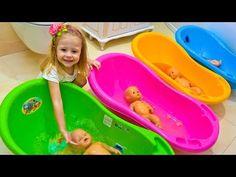 Куклы Пупсики Беби Бон и Настя КАК МАМА Baby Born Dolls and Nursery Rhymes Songs for kids and babies - YouTube