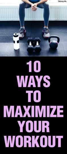 Make the most out of your workout! It doesn�t matter if you�re on a tight schedule and squeezing in a cardio quickie or heading to the gym decked out in sports gear, ready for a long sweat sesh. Either way, it�s important to care for your body in ways tha