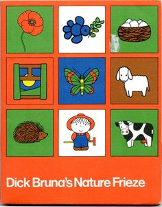 Dick Bruna's Nature Frieze via stopping off place
