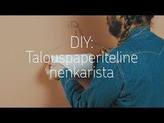 DIY: Talouspaperiteline metallihenkarista | op.media