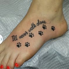 Paw print tat is part of Cute Dog tattoos Tatoo - Cute Dog tattoos Tatoo Dog Tattoos, Family Tattoos, Mini Tattoos, S Tattoo, Animal Tattoos, Body Art Tattoos, Small Tattoos, Paw Print Tattoos, Tattoos For Pets