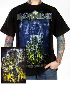 Iron Maiden, T-Shirt, Somewhere Back In Time