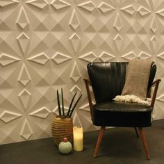 Interested in Wall Panels and Wall Decorations. MyWallArt is supplier and wholesale of eco friendly Wall Tiles/ Give an extra dimension to your walls! Decorative wall panel & Tiles in 24 stunning designs. Pvc Wall Panels, 3d Panels, Decorative Wall Panels, 3d Wall Decor, 3d Wall Art, Panel Wall Art, Design 3d, Wall Design, Design Ideas