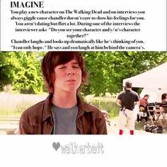 Carl The Walking Dead Imagine