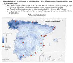 2007. Distribución de las precipitaciones.