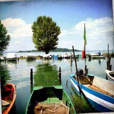 San Feliciano (Magione), Lago Trasimeno #altrasimeno visita alla cooperativa dei pescatori foto di @apeindiana